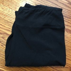 lularoe black leggings - size OS